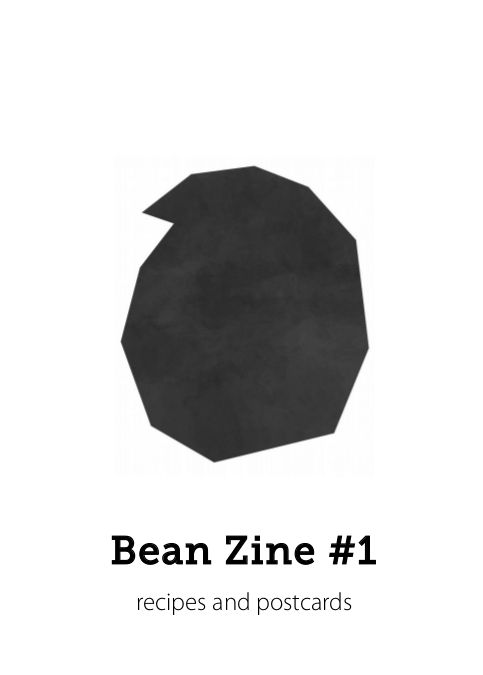Bean Zine #1 cover