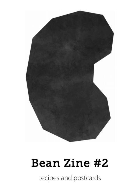 Bean Zine #2 cover